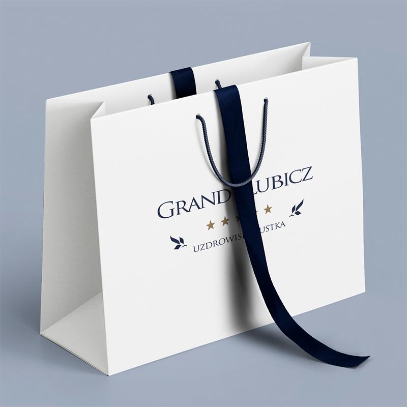 torby papierowe z nadrukiem Grand Lubicz