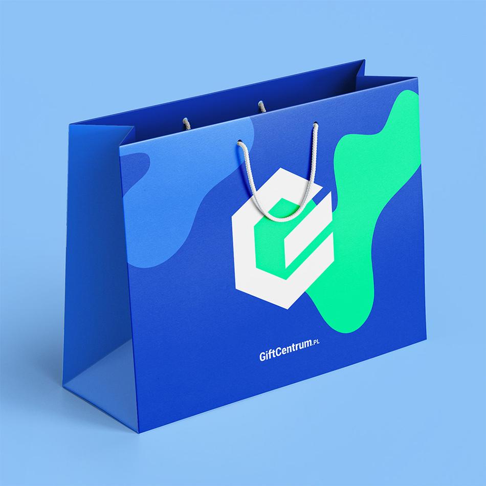 torby reklamowe niebieskie