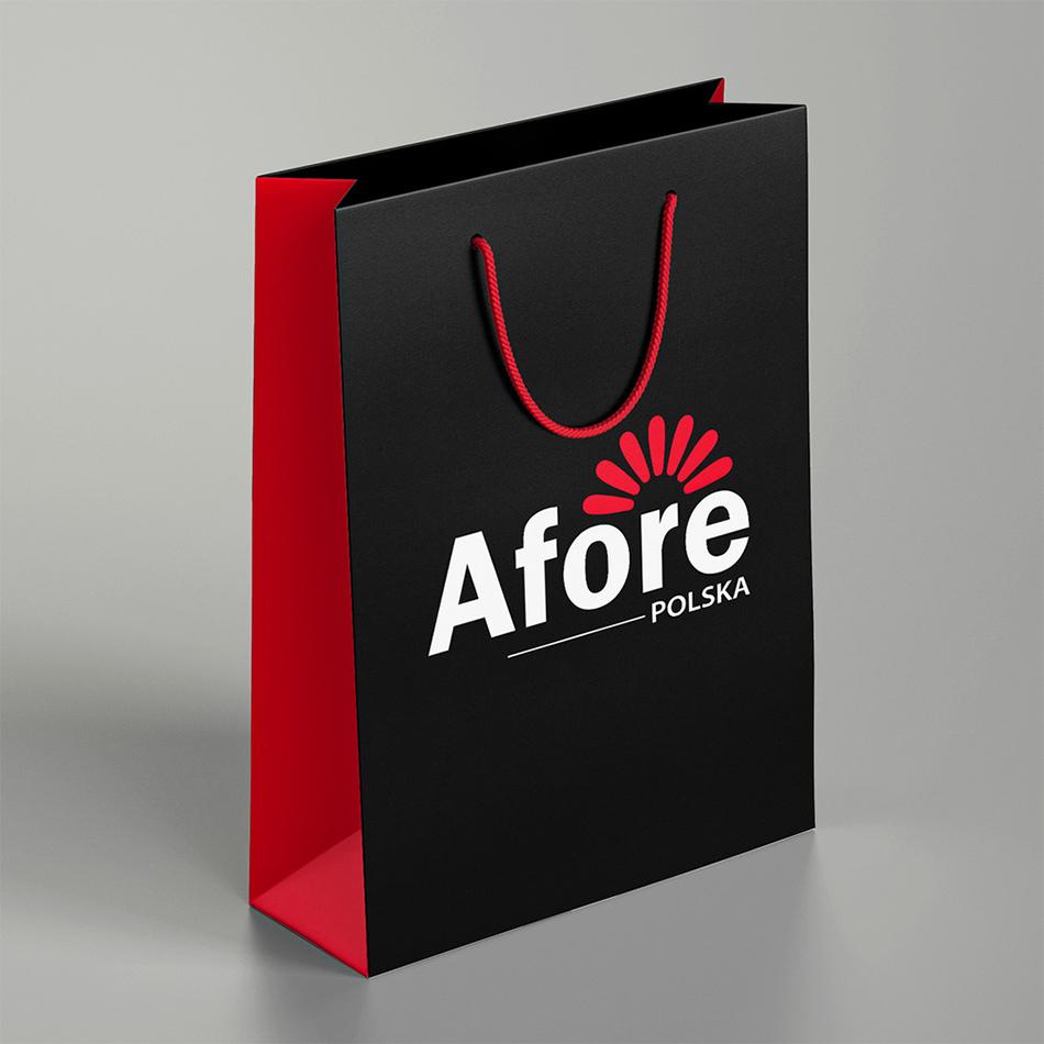 torby reklamowe papierowe Afore