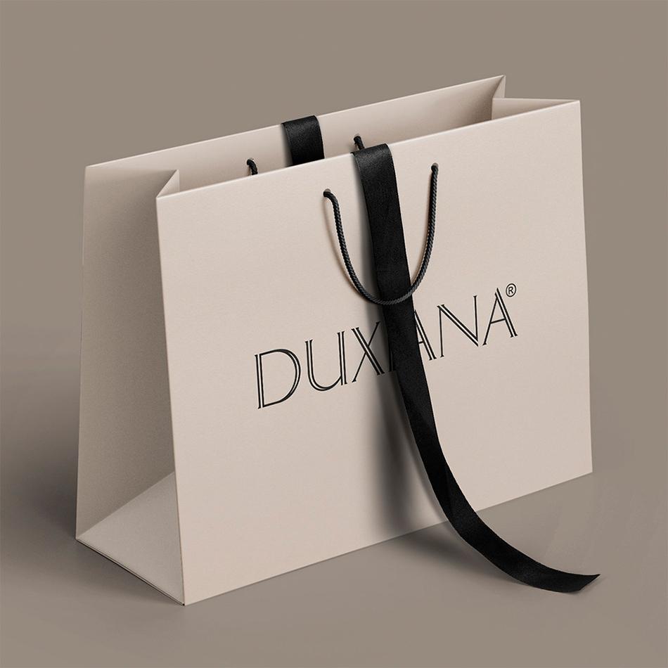 torby reklamowe papierowe Duxiana