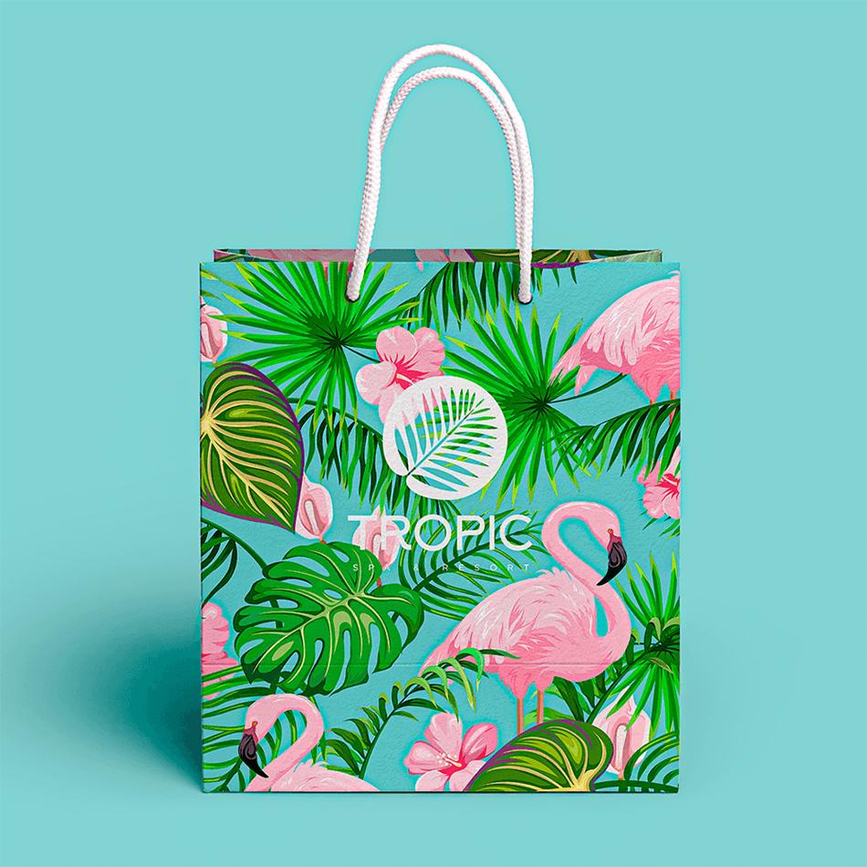 torby reklamowe papierowe kolorowe