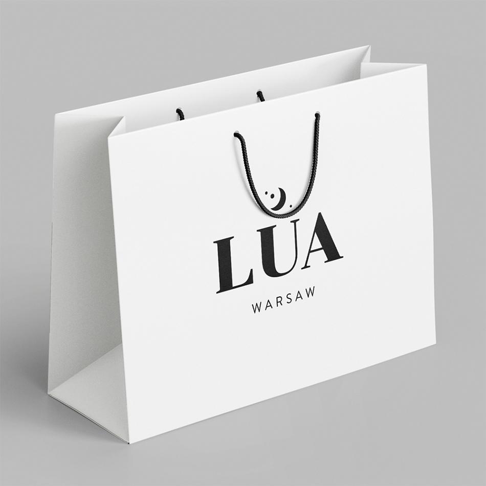 torby reklamowe z nadrukiem logo Lua
