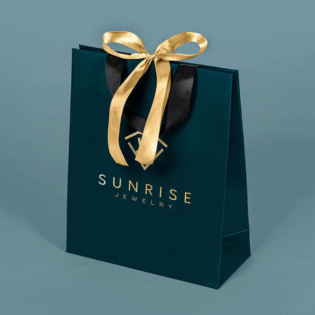 Papierowe torby reklamowe z nadrukiem logo